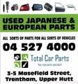 Parts Dismantlers Wellington | Car Wreckers