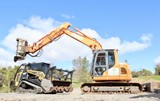Digger & Skidsteer Mulching & Chipping Services
