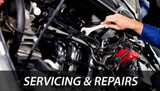 Repairing, servicing, painting, Removal
