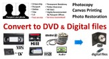 video conversions - DVD and MP4 etc