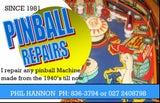 Pinball Machine Repair