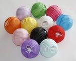 Mini Paper Lanterns - Light Pink x 24 units