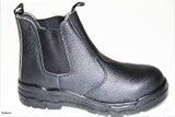 Safety Boots Slip On Steel Toe 6,7,8,9,10,11,12