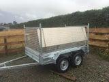 3mm Aluminium Checkerplate Tool Box, trailer