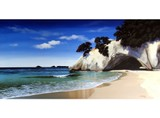 Cathedral Cove by Linelle Stacey CANVAS PRINT