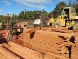 Totara/ Rough Sawn Pine/ and AUSTRALIAN BLACKWOOD