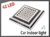 Free Shipping! 42 LED Car Ceiling Light 12V/5W