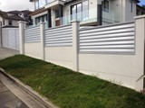 CONCRETE FENCING & WALL DETAILS