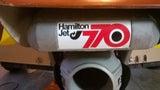 Hamilton Jet Decal Sticker