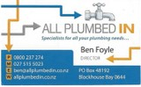 West Auckland Plumbing, Gas Fitting, Drainlaying