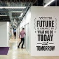 Wall Stickers Wall Decal Quotes - Do It Today Not Tomorrow Wall Office Sticker