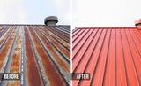 Roof restoration /%30 offffffff/ roof design paint