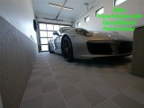 QuickClick garage and showroom flooring