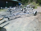 Multi roller dropped frame 4--6 mtr priced from.