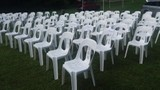White Chair Hire @ $3.00 pc