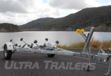Heavy Duty Boat Trailer for 15ft to 17ft ( 4.6 to 5.3m ) Boats