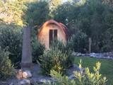 relocatable The Pod sleepout cabin glamping eco