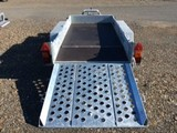 Ifor Williams GH94BT Tandem Axle Plant Trailer