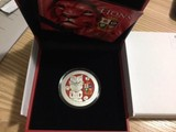 NEW ZEALAND 2017 The British & Irish Lions 2017 1 OZ Silver Proof Coin