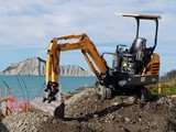 Mini Digger Tip Truck hire and Freight service