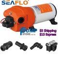 SEAFLO 12V 24V CARAVAN WATER PRESSURE PUMP 4.5GPM 17LPM 40 PSI