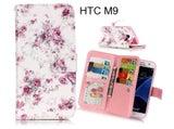 HTC M9 case Multifunction wallet leather case