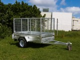 Trailer for Sale 8x5 Cage Single Axle - ASSEMBLED