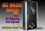 S.S Instant 12L LPG Gas Hot Water Heater Tankless Shower + Accessories