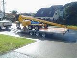 flat deck tandem trailers