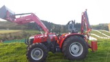 Fencing Orchard Tractor and post rammer for hire