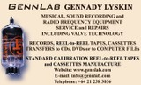 Tapes, cassettes, records transfer to CD. Service.