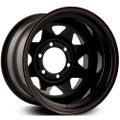 WILDLAND OFFROADER BLACK 6X139.7 16x8 0 BLACK