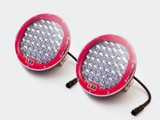185w 9'' CREE LED Spot Light Red x2 with Free wiring harness!!!