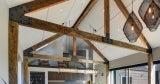 Hardwood bridge beams, sleepers, milled timber