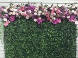 For HIRE Silk Flower Backdrop / Flower wall