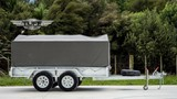 10x5 Covered Tandem Tuff Trailer 2500kg GVM Rated!