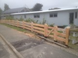 Macrocarpa Post & Rail Fencing