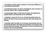 aa BANKRUPT BROKE RECEIVERSHIP LIQUIDATION