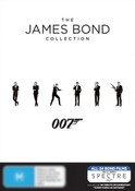 The James Bond Collection (All 24 Bond Films Including Spectre)