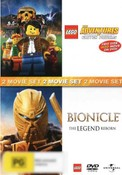 LEGO: The Adventures of Clutch Powers / Bionicle: The Legend Reborn (2 Movie Set)