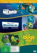 Monsters, Inc. / Finding Nemo / A Bug's Life