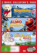 Napoleon / The Adventures of Elmo in Grouchland / The Care Bears Movie 2 (3 Movie Collector's Pack)