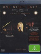 One Night Only - Barbra Streisand and Quartet at the Village Vanguard (Blu-ray)