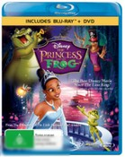 The Princess and the Frog (Blu Ray + DVD)