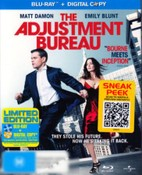 The Adjustment Bureau (BD + Digital Copy)