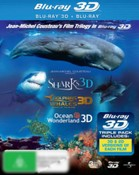 Sharks / Dolphins and Whales / Ocean Wonderland (3DTV/2D)