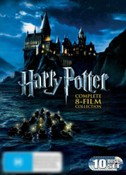 Harry Potter Complete Collection (10 Disc Box Set) (Includes Harry Potter and the Deathly Hallows - Part 2)