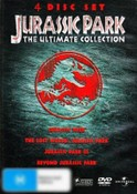 Jurassic Park: The Ultimate Collection (4 Disc Jurassic Park Trilogy with Bonus Disc)