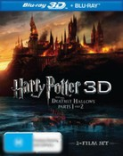 Harry Potter and the Deathly Hallows - Part 1 & 2 (3D Blu-ray/Blu-ray) (6 Discs)