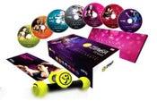 Zumba Fitness Boxset (7 Workout DVDs with Zumba Toning Sticks)
